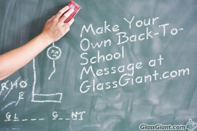 Your back to school message