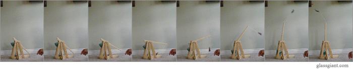 misc trebuchet firing
